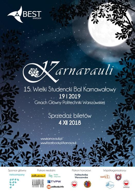 15. edycja Wielkiego Studenckiego Balu Karnawałowego Karnavauli