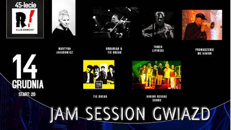 Jam session gwiazd na 45-lecie Riviery Remont