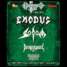 Sodom, Death Angel, Suicidal Angels, Exodus