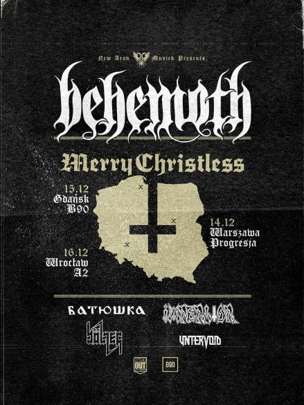 Merry Christless: Behemoth + Batushka + Bölzer + Imperator + Untervoid