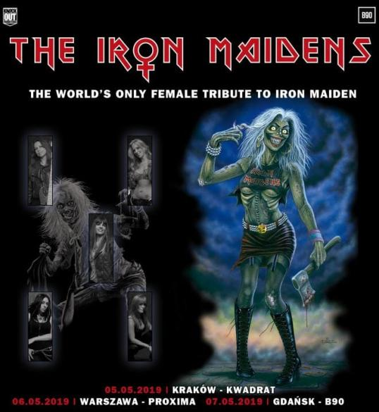 The Iron Maidens + Red's Cool