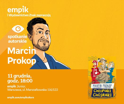 Spotkanie z Marcinem Prokopem
