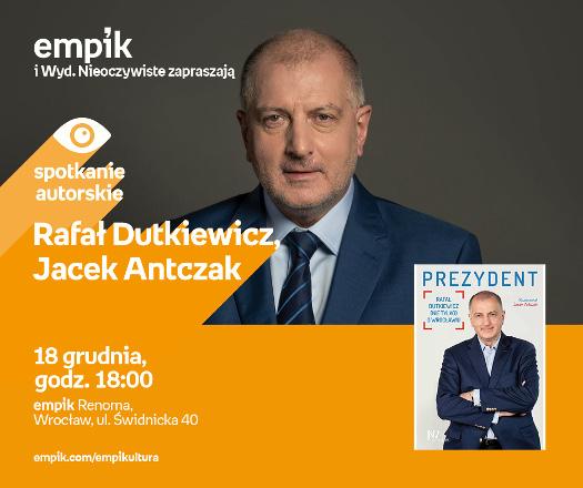 Rafał Dutkiewicz i Jacek Antczak - spotkanie autorskie