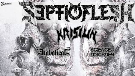 Septicflesh  Krisiun  Diabolical  Science of Disorder