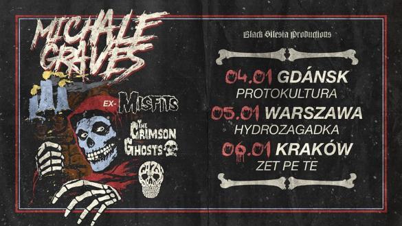 Michale Graves (ex-Misfits) + Crimson Ghosts
