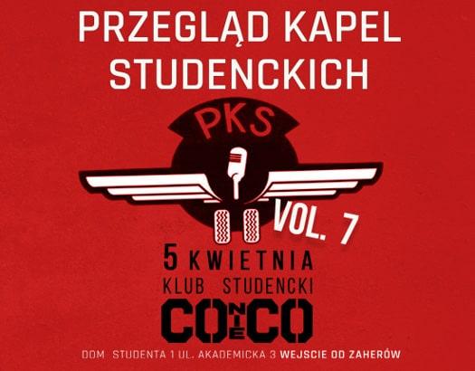 7. edycja Przeglądu Kapel Studenckich
