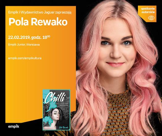 Pola Rewako - spotkanie autorskie