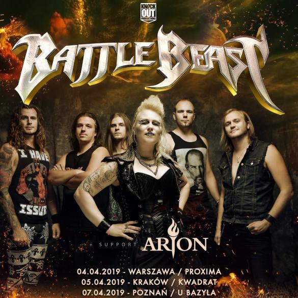 Battle Beast + Arion