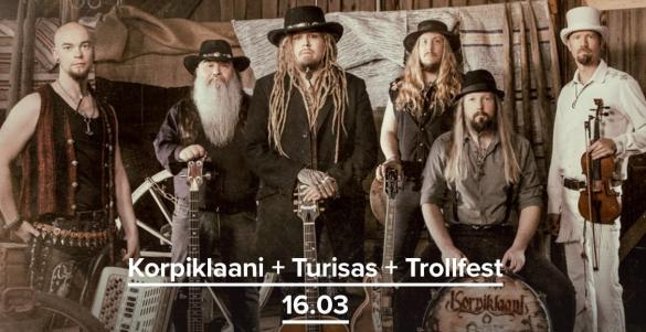 Korpiklaani + Turisas
