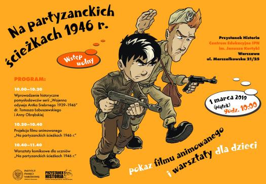 Na partyzanckich ścieżkach 1946 roku - pokaz animacji