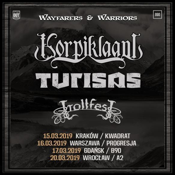 Korpiklaani + Turisas + Trollfest