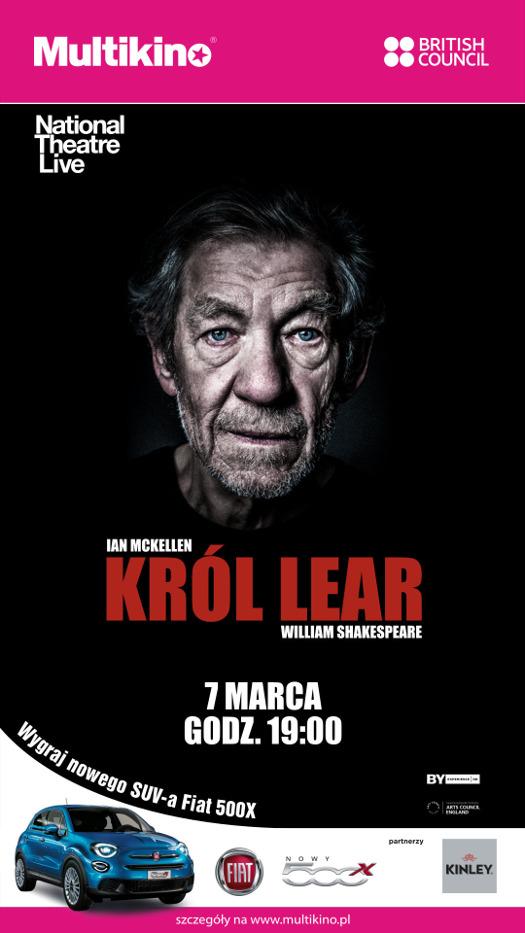 National Theatre Live: Król Lear w Multikinie