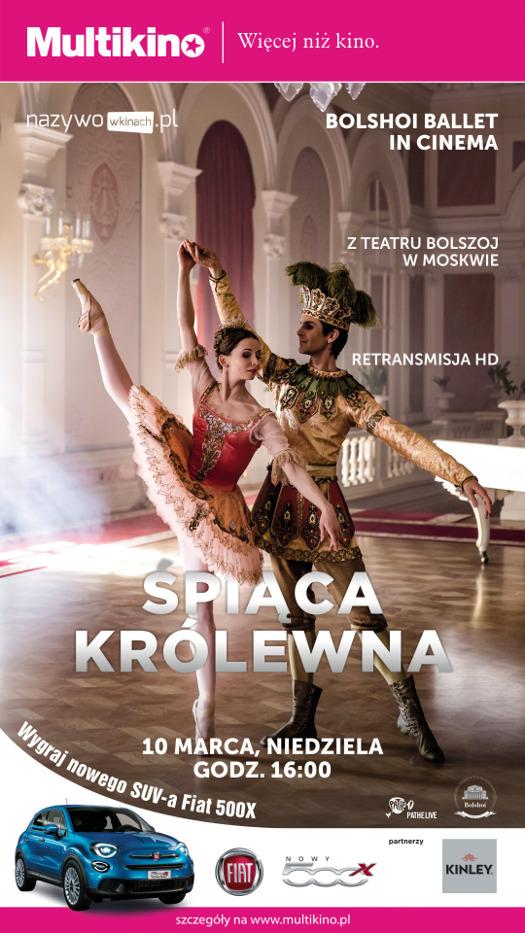"""""""Śpiąca królewna"""" z Teatru Bolszoj w Multikinie"""