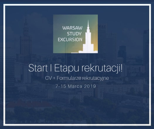 Warsaw Study Excursion 2019