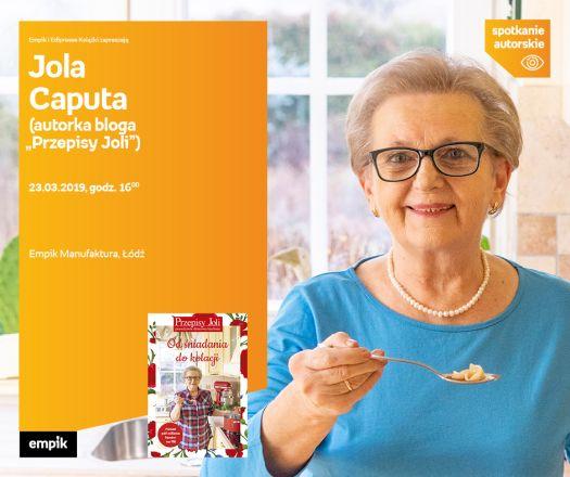 Jola Caputa- spotkanie autorskie