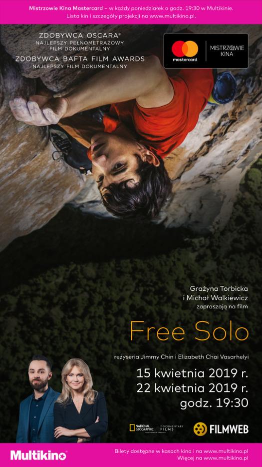 Free Solo w Multikinie