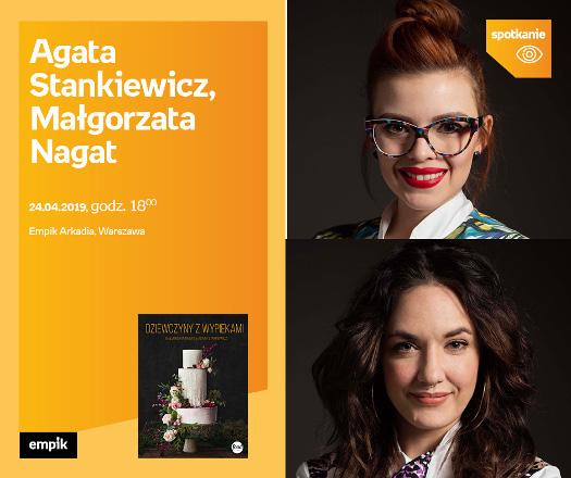 Agata Stankiewicz, Małgorzata Nagat - spotkanie autorskie