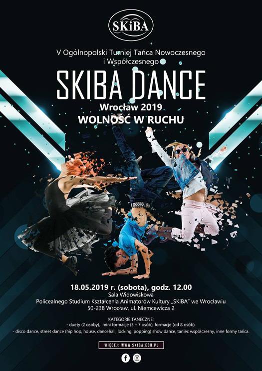 5. Ogólnopolski Turniej Tańca Nowoczesnego i Współczesnego - SKIBA DANCE 2019