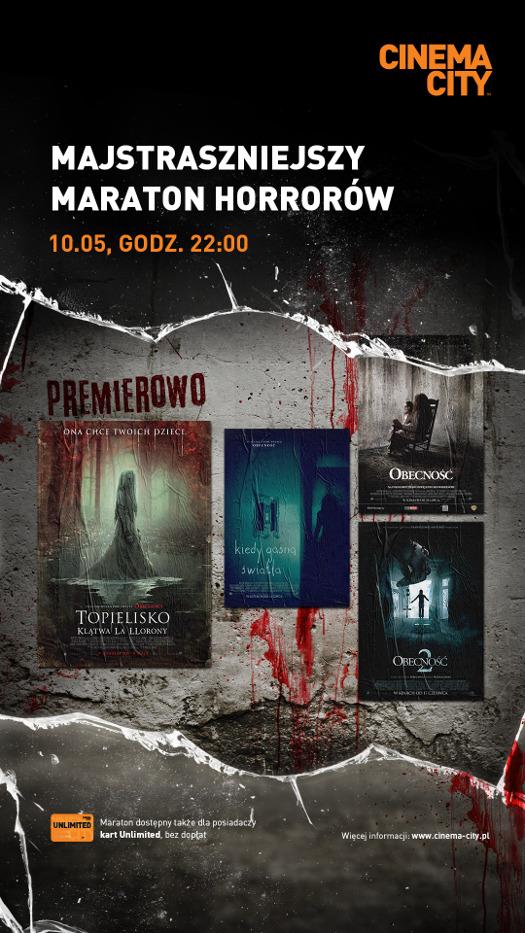 Noc strachu w Cinema City