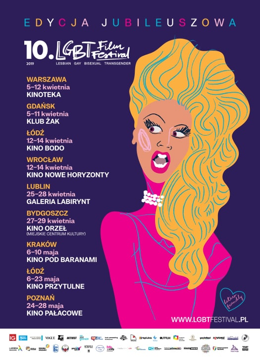 10. LGBT Film Festival w Kinie Pod Baranami