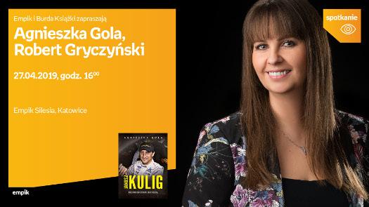 Agnieszka Gola i Robert Gryczyński - spotkanie autorskie