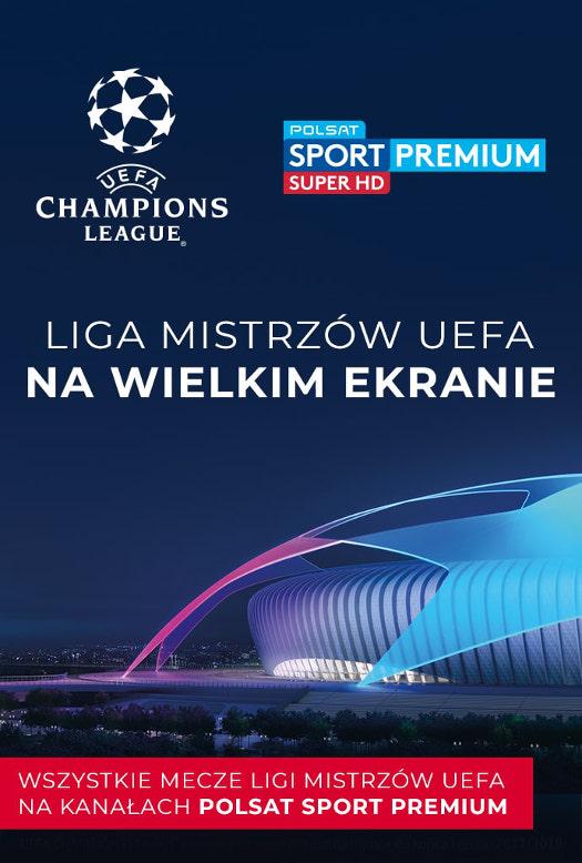Półfinałowe mecze Ligi Mistrzów UEFA w Multikinie