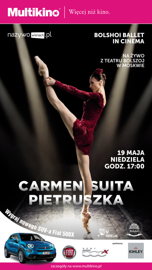 """Carmen-suita & Pietruszka"" w Multikinie"