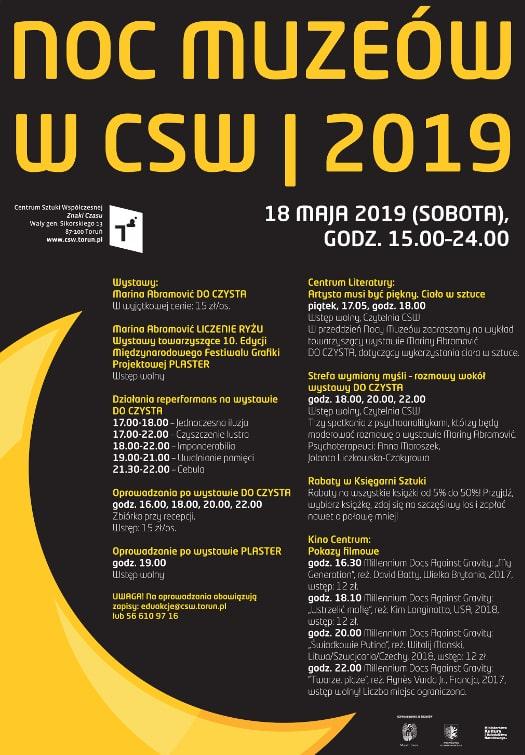 Noc Muzeów w CSW 2019