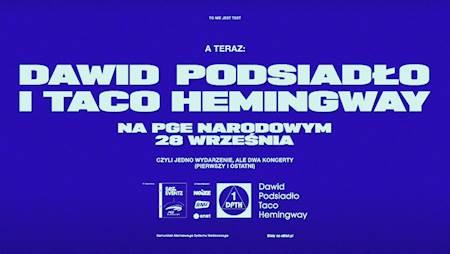 Taco Hemingway i Dawid Podsiadło