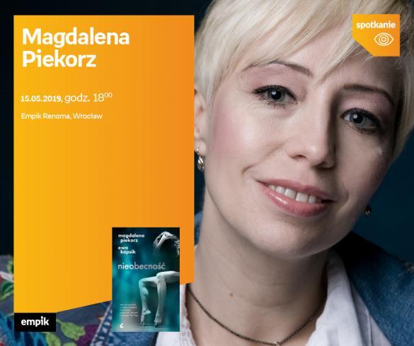 Magdalena Piekorz - spotkanie z czytelnikami
