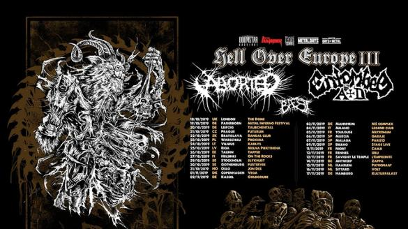 Baest + Aborted + Entombed A.D.