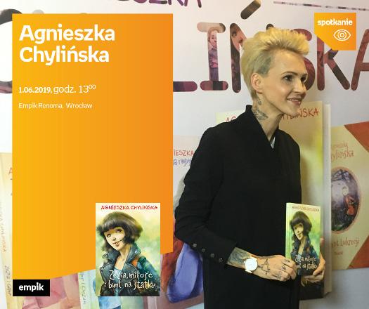 Agnieszka Chylińska - spotkanie autorskie