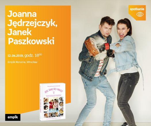 Spotkanie z Joanną Jędrzejczyk i Janem Paszkowskim