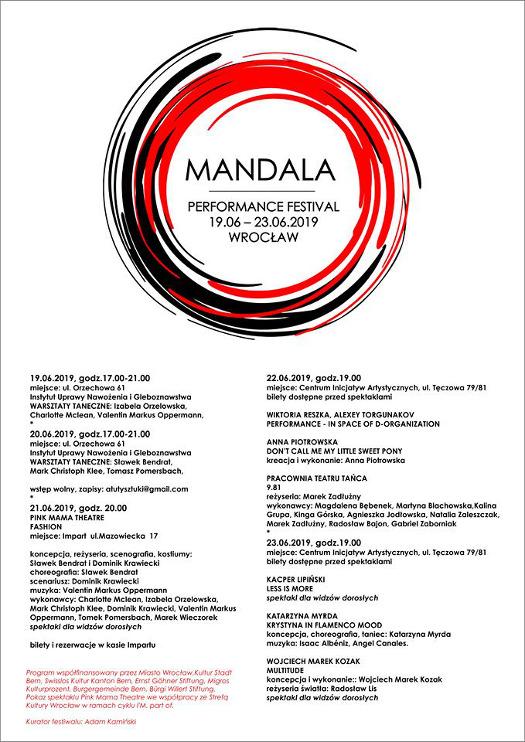 Mandala Performance Festival 2019