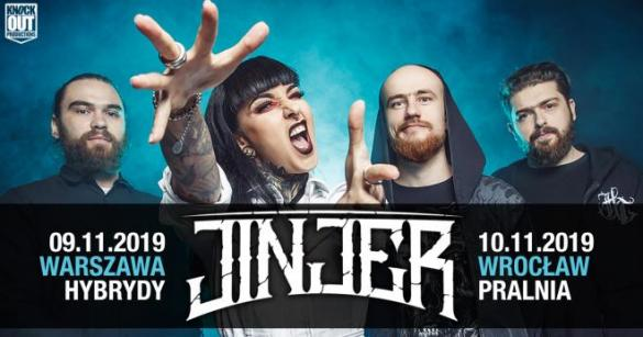 Jinjer + The Agoinist + Khroma
