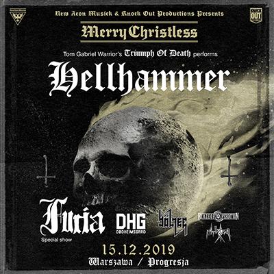 Merry Christless 2019: Hellhammer + Furia + Dodheimsgard