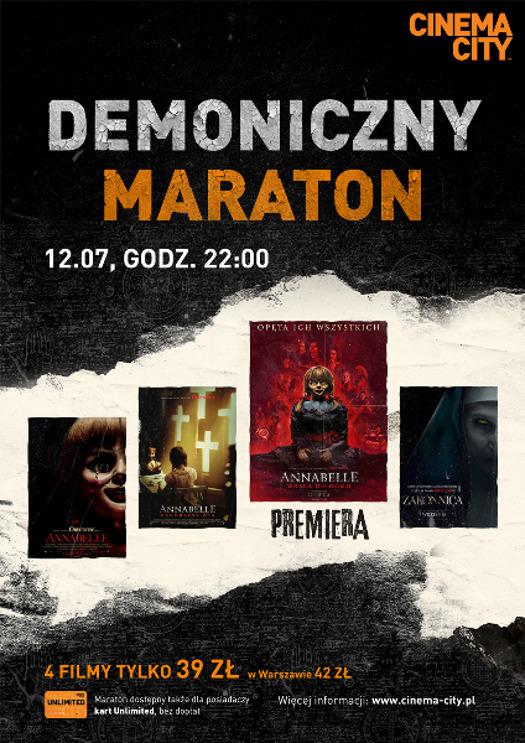 Demoniczny maraton z Annabelle w Cinema City