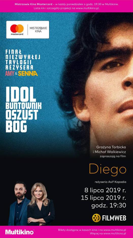 Mistrzowie Kina Mastercard w Multikinie: Diego