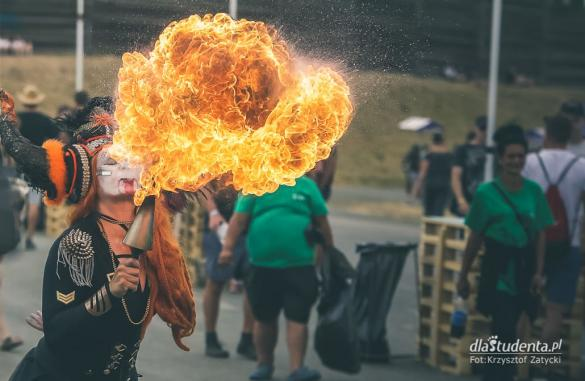 Amanitas Fire Theatre na Rock For People 2019