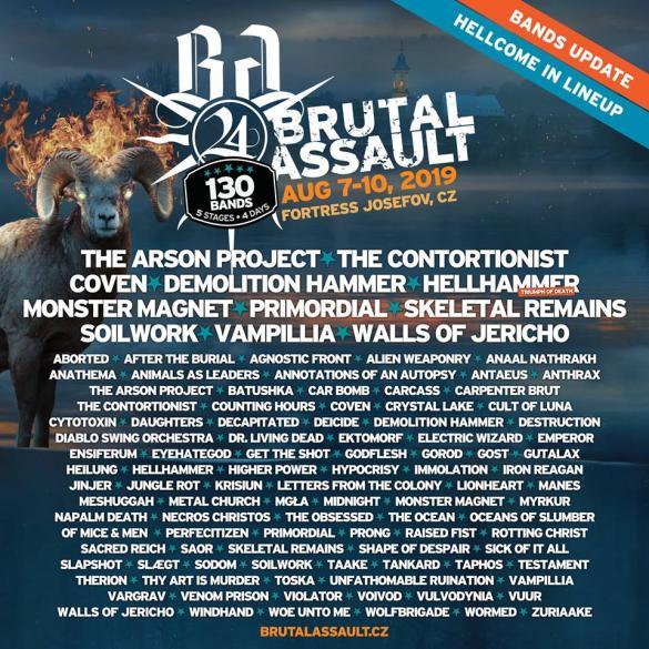 Brutal Assault 2019 - dzień drugi