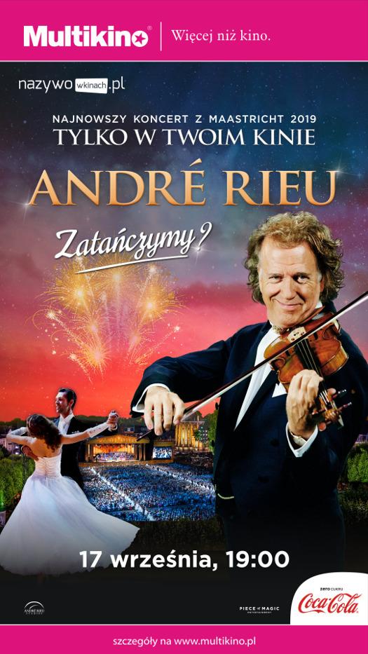 """André Rieu - """"Zatańczymy?"""" w Multikinie"""