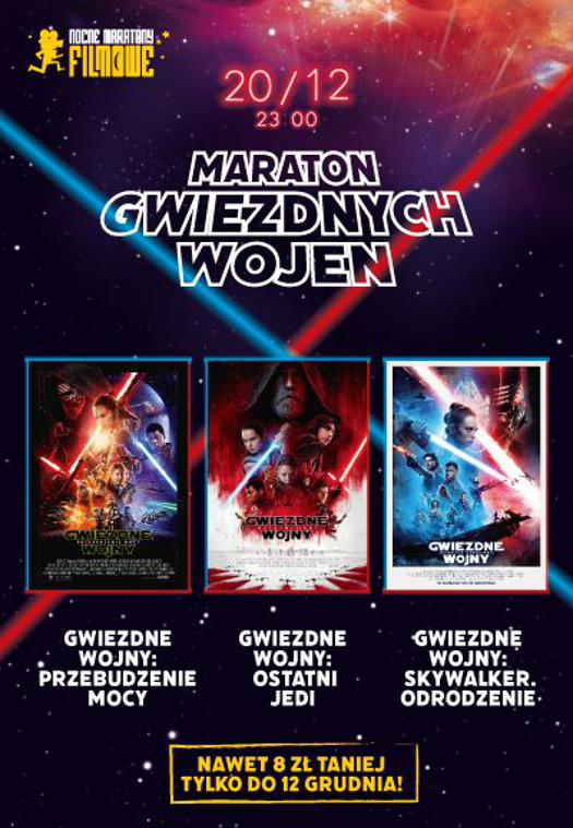Maraton Gwiezdnych Wojen w Heliosie