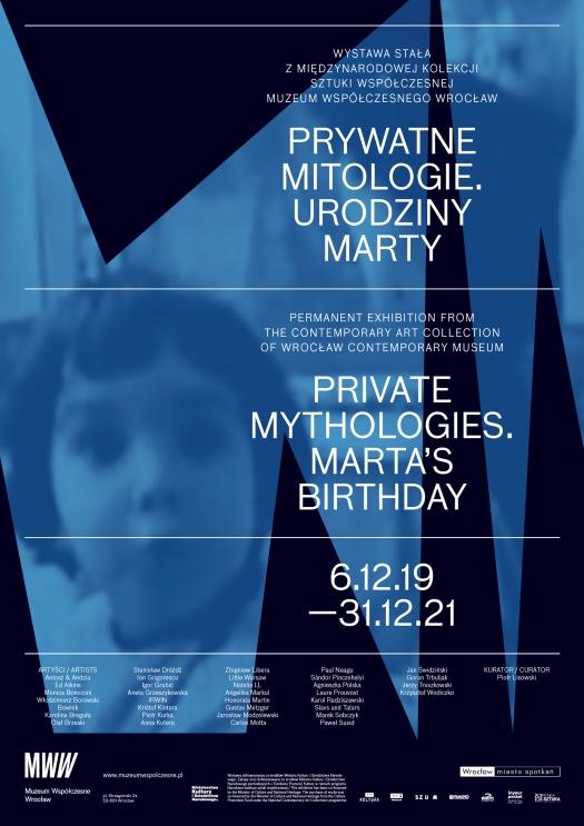 """Wystawa stała """"Prywatne mitologie. Urodziny Marty"""""""