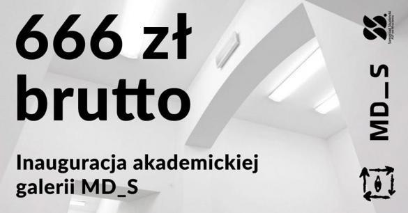 """Inauguracja akademickiej Galerii Sztuki Współczesnej """"MD_S"""""""