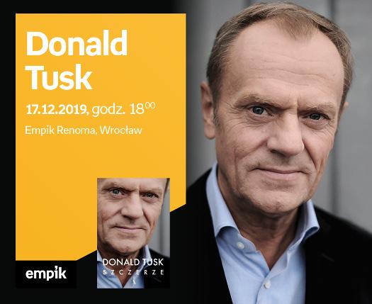 Spotkanie autorskie z Donaldem Tuskiem