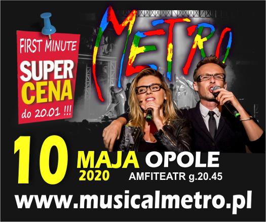 Musical METRO w Opolu
