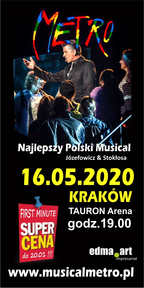 Musical METRO w Krakowie