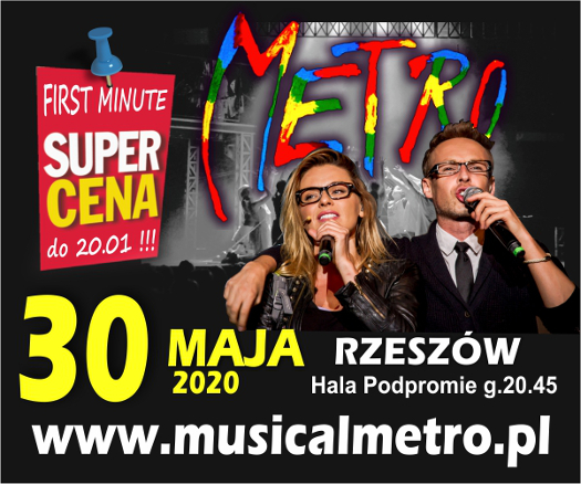 Musical METRO w Rzeszowie