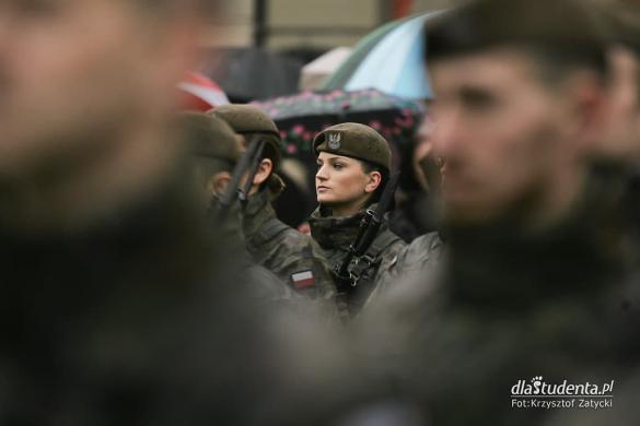Uroczysta przysięga Wojsk Obrony Terytorialnej