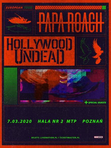 Papa Roach, Hollywood Undead, Ice Nine Kills